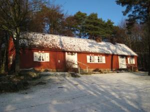 Grötagille 20141227 Kråkegårdslängan i snö