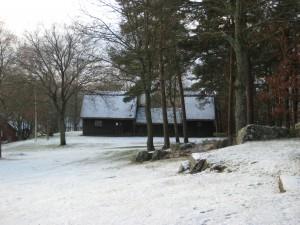 Grötagille 20141227 Särdalsstugan i snö