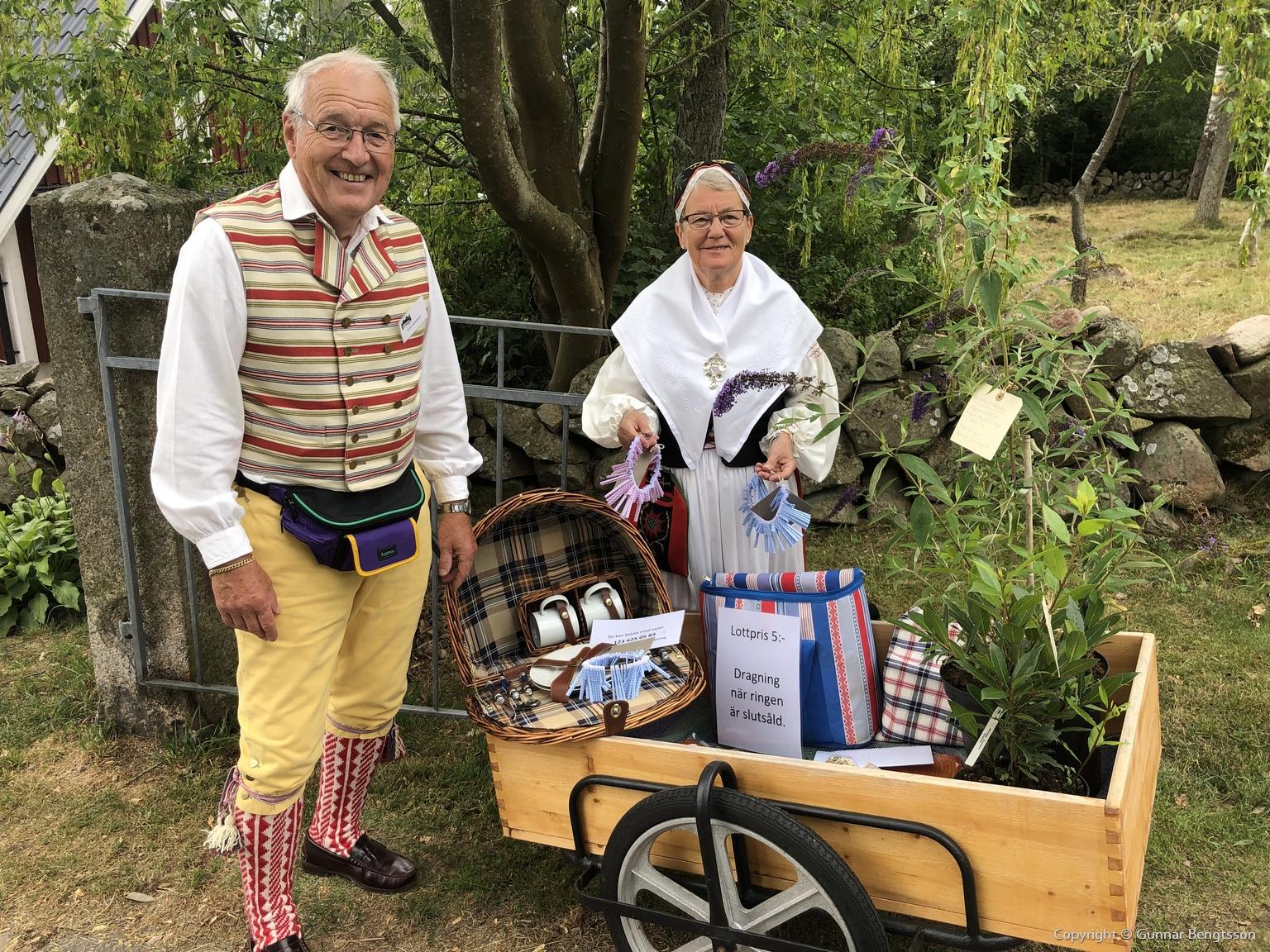 Leif och Anne-Margrete Andersson sålde lotter