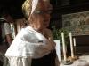 I Särdalsstugan berättade Margaretha Hultén om dopet