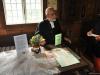 I Särdalsstugan berättade kyrkoherde Peder Jarnvall om bröllop.