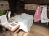 Dopkläder visades  i  Särdalsstugan