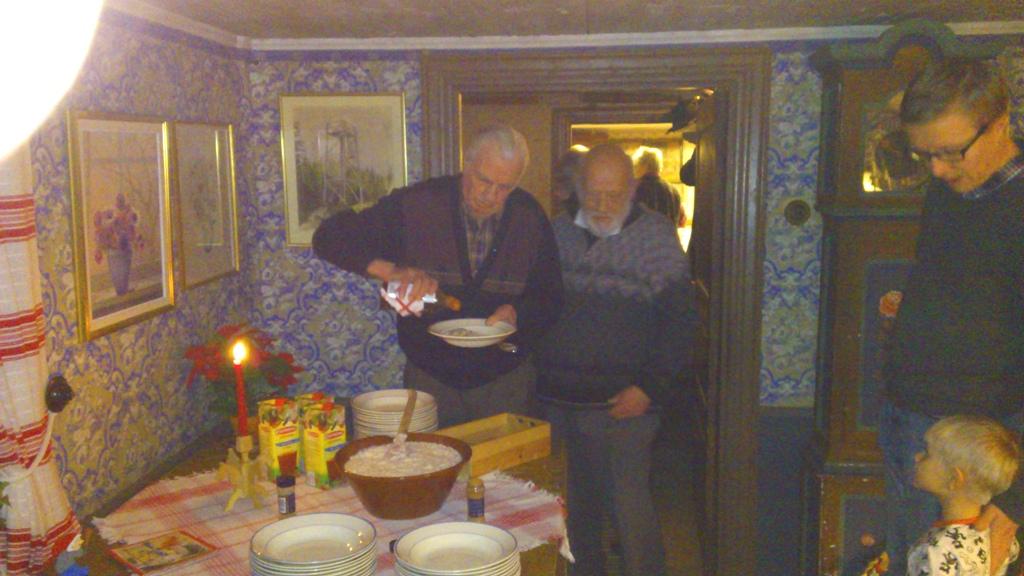 Grötagille 20121227 Sven Ericsson, Bengt Hulten, Rolf Mårtensson m son
